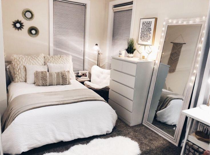 Pinterest ˏˋ Cierrahuxley ˎˊ Small Room Bedroom Apartment