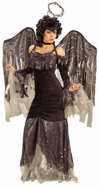 Adult Gothic Angel Costume - Gothic Costumes - AngelCostumes.org