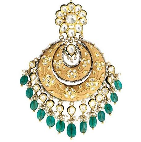 Polki Jewellery, nice dresses and great dresses there is so much to think of while dressing for a friend's wedding.