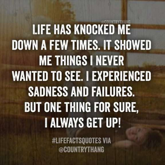 16 When Life Knocks You Down Get Back Up Quotes Down Quotes Funny Quotes About Life Up Quotes