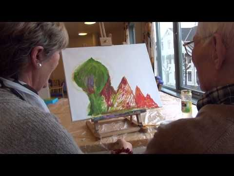 ▶ Kunstterapi - YouTube