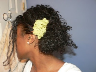 Hair Today- Messy Side Bun | Curly Nikki | Natural Hair Styles and Natural Hair Care