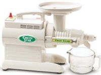Green Star Juice Extractor Package - Includes Juicer, Book, Video, Fruit attachment -