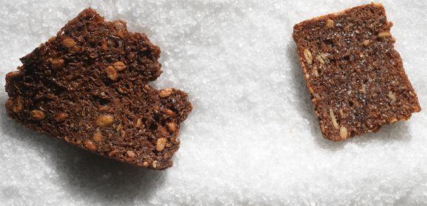 Opskrift på rugbrødschips (billede)