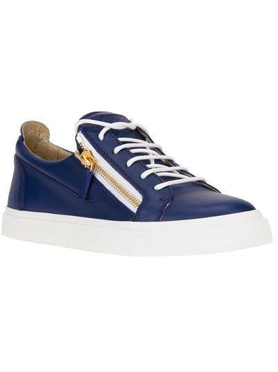 ?La Garã§onne Chaussures De Sport Imprimé - Bleu SHNWe