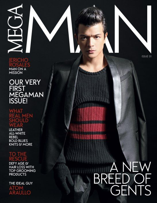 Jericho Rosales by Sara Black on the cover of Mega Man Issue 01