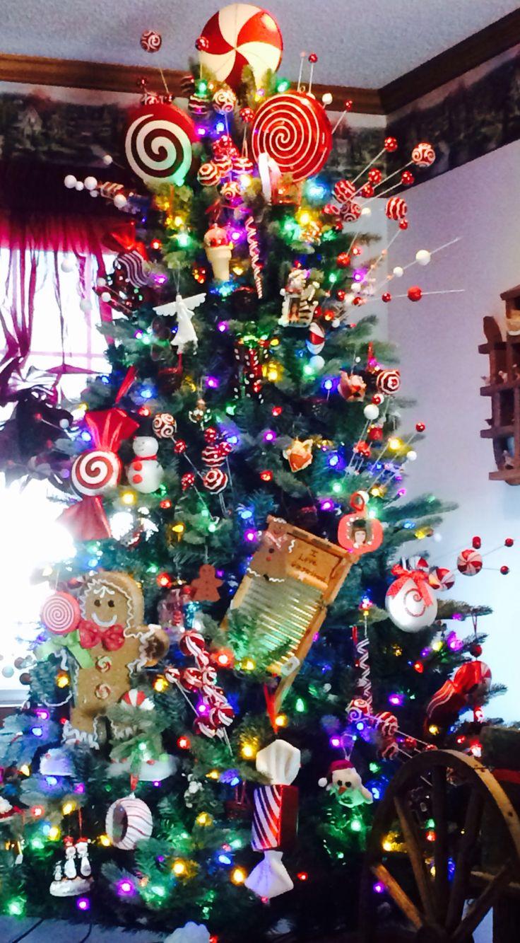 Peppermint Christmas Lights