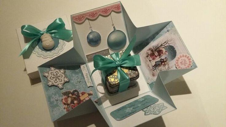 Explosion box natalizia 5