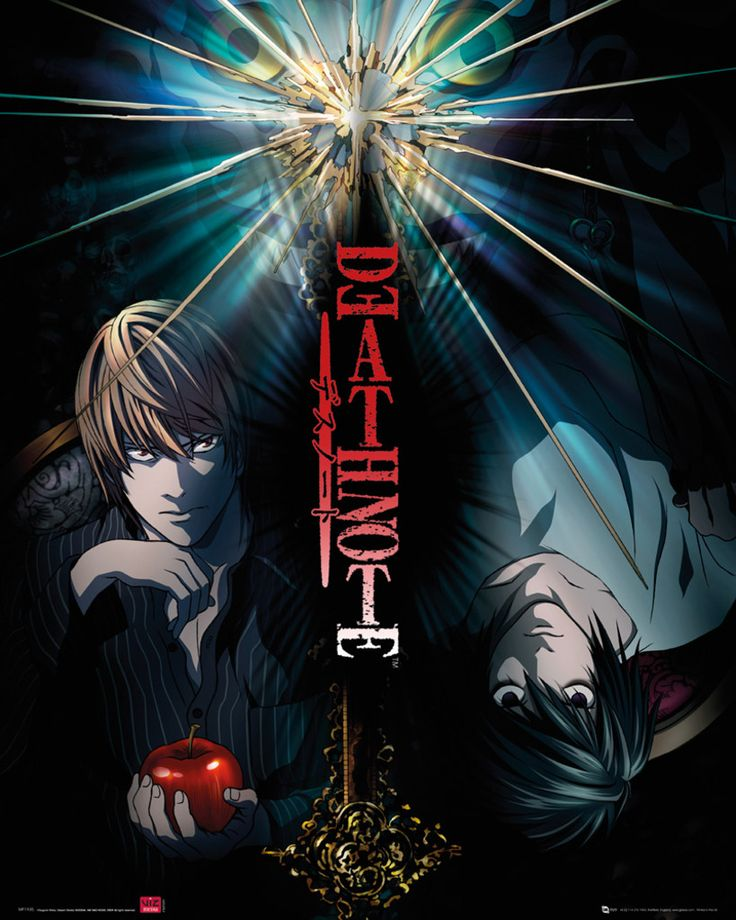 Death Note - Duo - Official Mini Poster. Official Merchandise. FREE SHIPPING