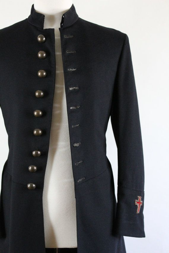 Knights Templar. 1900s Military Frock Coat. MC Lilley & Co ...