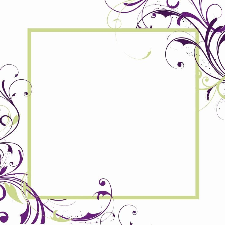 Printable Wedding Invitations Template