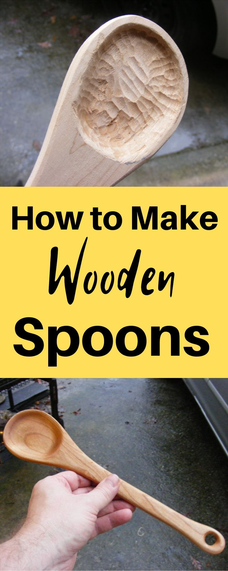 DIY Woodworking Ideas How to Make Wooden Spoons