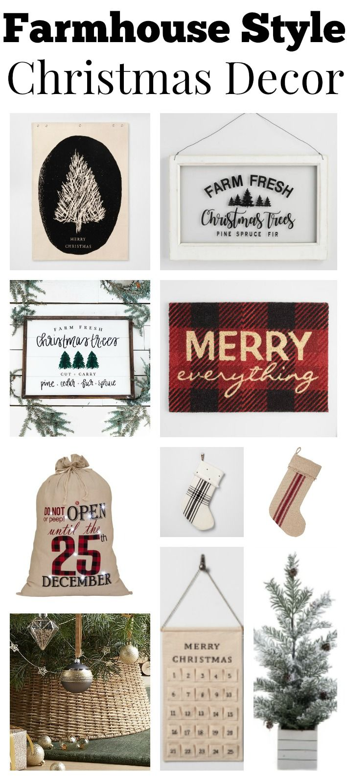 annual christmas decor shopping guide i believe in santa pinterest christmas decorations christmas and farmhouse christmas decor