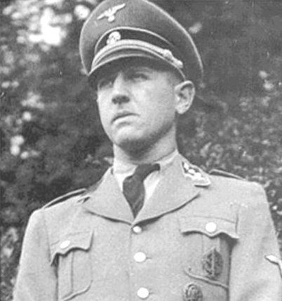 Theodor Dannecker was an SS Hauptsturmführer (captain) and one of Adolf Eichmann's key associates. Dannecker ordered and oversaw the French Police roundup of more than 13,000 French Jews who were deported to Auschwitz, where they were murdered.He was also responsible for the roundup of some 11,343 Greek and Yugoslav Jews, who were sent to Auschwitz and Treblinka (only 12 survived).Dannecker committed suicide shortly after his capture by US troops in Dec 1945.