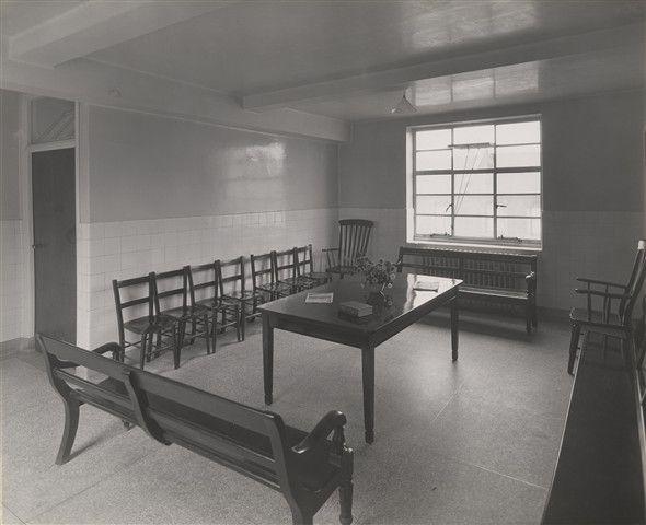 Visitors Room, Hackney Hospital