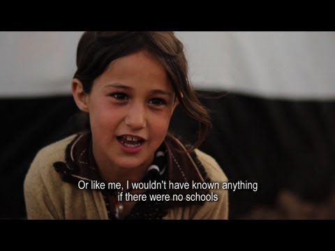 ▶ Kids in Camps: Niroz - YouTube - Syrian refugees