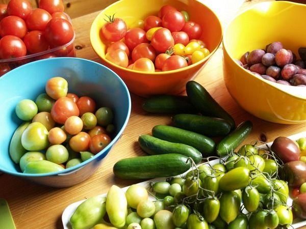 2016-08-29: Home grown produce