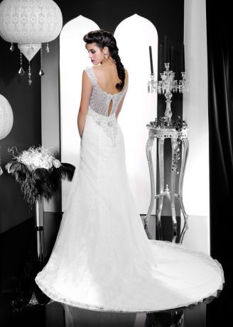 Morelle mariage - Robe de Mariée : Robe de Mariée Kelly Star - KS146-15