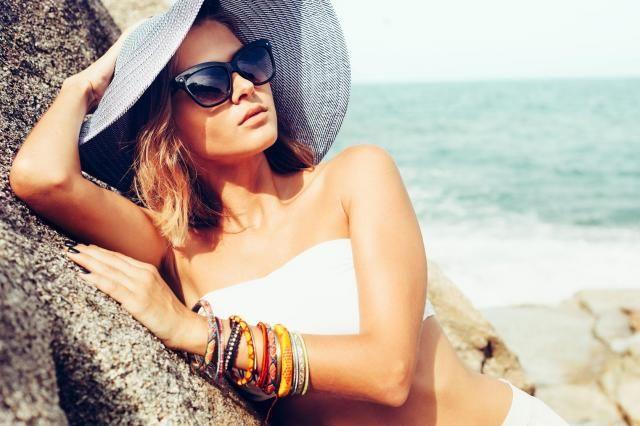 Poradnik wizażystki: Perfekcyjny makijaż na plażę #makeup #makijaż #kobieta