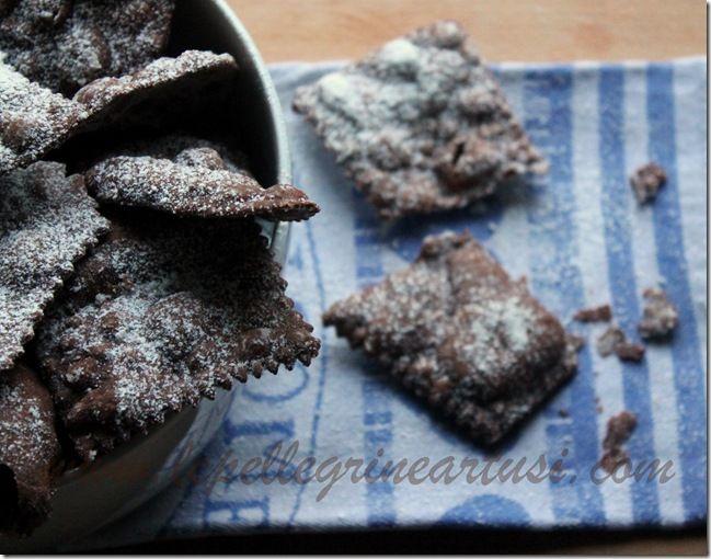 Le pellegrine Artusi: Cenci di carnevale al cioccolato