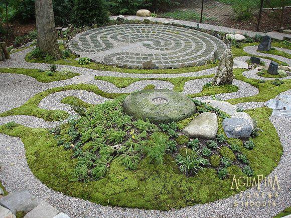 Labyrinth labyrinth knot and spiral gardens pinterest for Garden maze designs