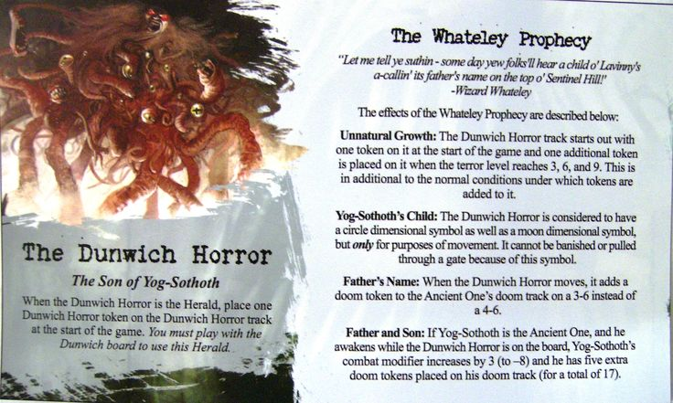 Arkham Horror: The Dunwich Horror (Herald)