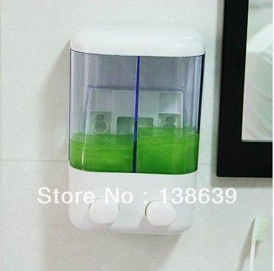 Оптом И В Розницу Новый Ванная Комната Настенные Мыла для мытья рук АБС-Пластик Жидкости Бутылки Из-Под Шампуня Мыла, МС-21