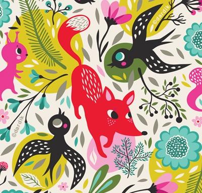 I love Helen Dardik's prints... fun, colorful, vintage like, and so unique!