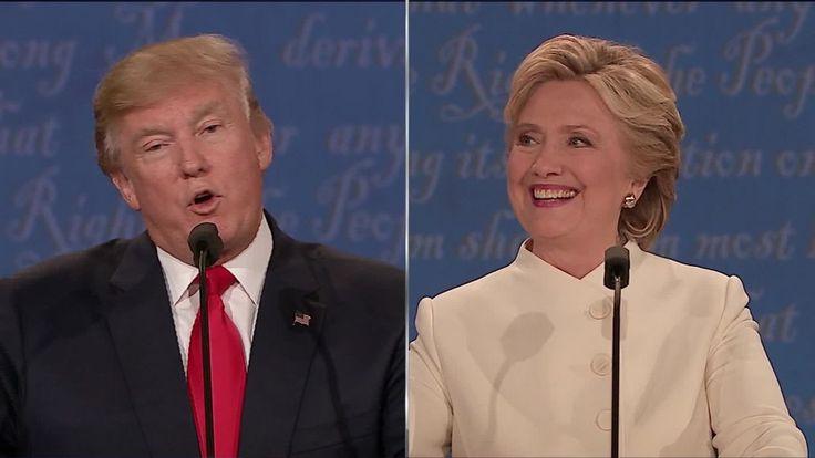 Entire 3rd presidential debate: Trump vs. Clinton / Thurs