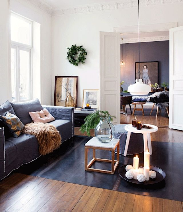 an oslo home decked out for the holidays