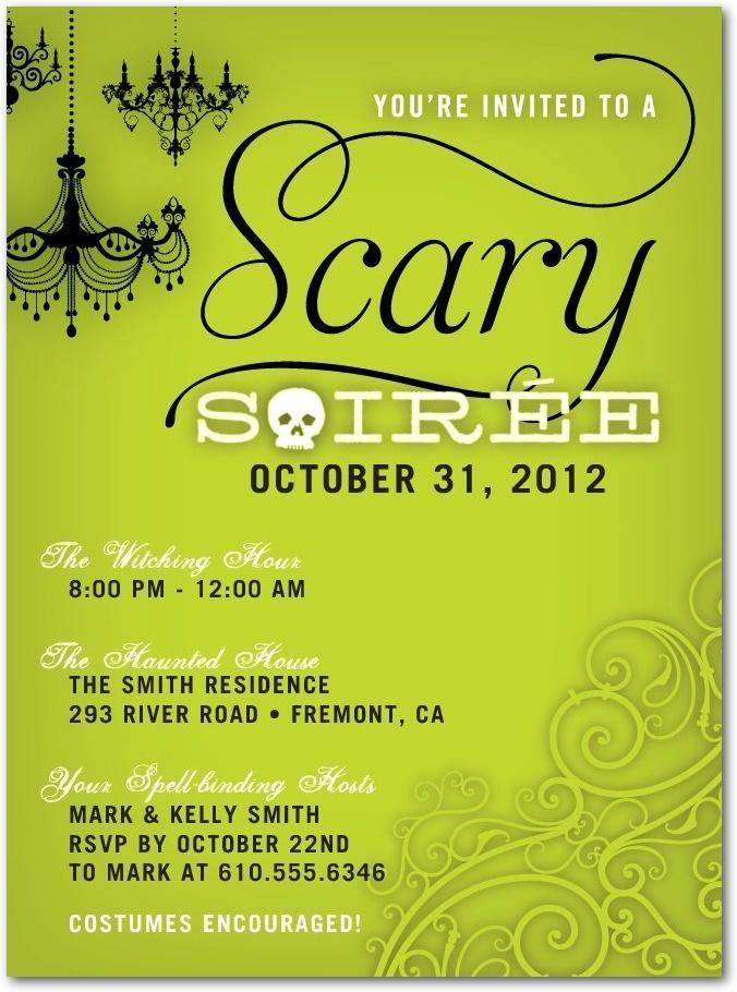 108 best Halloween Invitations images on Pinterest | Halloween party ...