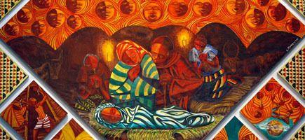 Nativity_Engelbert Mveng (Cameroon)