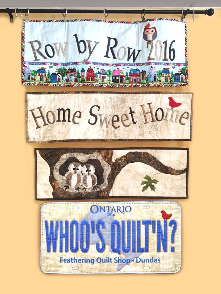 Row by Row 2016 The Feathering Quilt Shop in Dundas Ontario