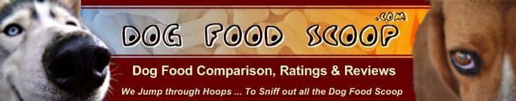 Dog food comparisons and ratings