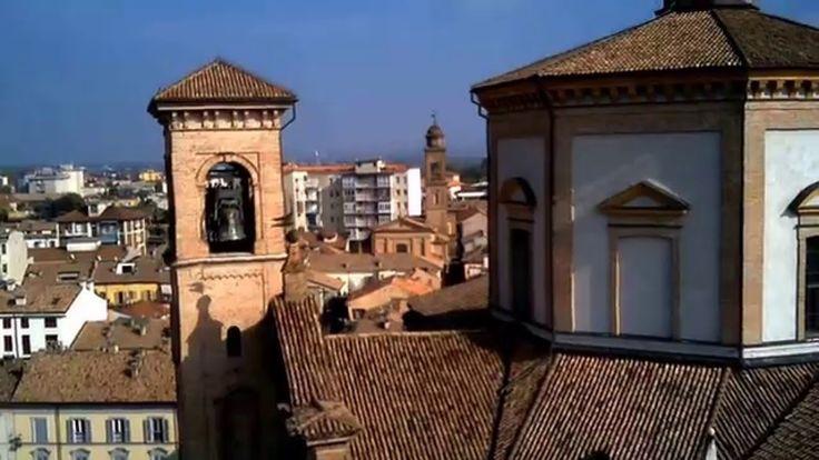 Voghera: il Duomo e dintorni a volo di uccello