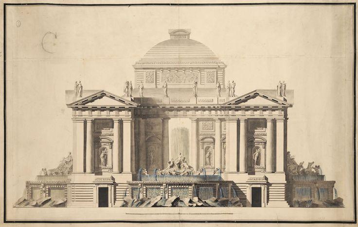 fontaine publique et aiguade marie joseph peyre 1751. Black Bedroom Furniture Sets. Home Design Ideas