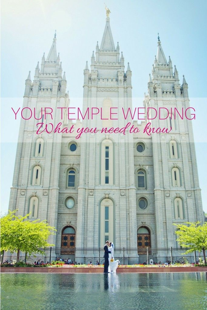 Don't forget these important parts of your LDS temple wedding. #lds #mormon