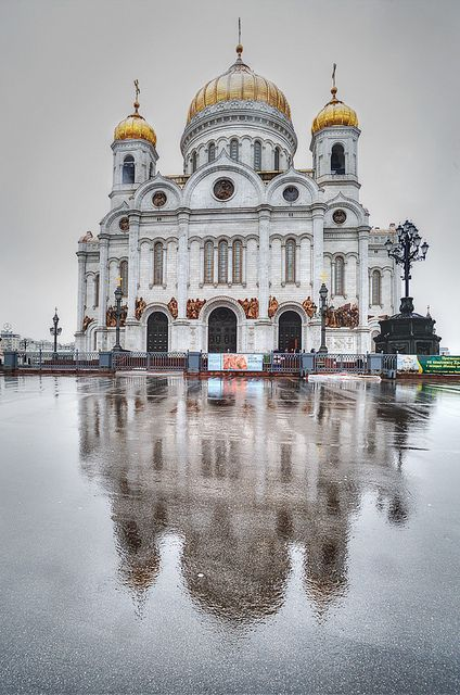The Cathedral of Christ the Savior, Moscow, Russia