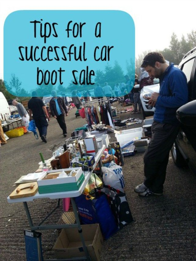 How to have a successful car boot sale tips as a seller (read the post to find my car boot sale as a buyer tips) | Bubbablue and me