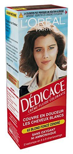 L'Oréal Paris Dédicace Coloration Temporaire Sans Ammoniaque – Lot de 2: Couleur cheveux temporaire, couvre en douceur les cheveux blancs…