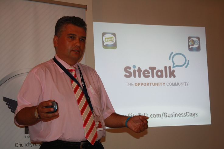 #SiteTalk Deals & Cashback @BusinessDays  Cluj