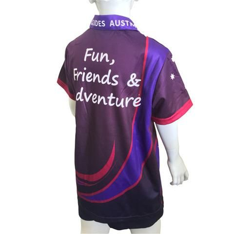 Fun Friends and Adventure Youth Shirt - Guides Queensland Guide Supplies - 1
