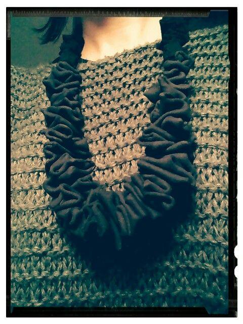 Collana handmade in tessuto ~ Poodlemind Design