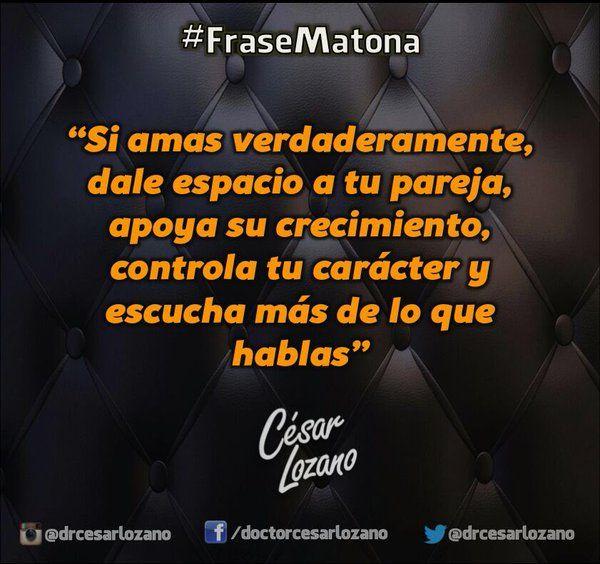 """""""Ahogar, sofocar o atosigar  espanta al amor"""" #FraseMatona"""