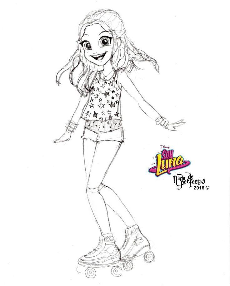 Luna 🌙 @karolsevillaofc! Está vez decidí vestirla con el outfit que usa en la intro de Soy Luna 🌙 Yay! Estoy super feliz de contarles que estaremos haciendo un concurso para ganar los patines profesionales de la serie original Disney Channel,...