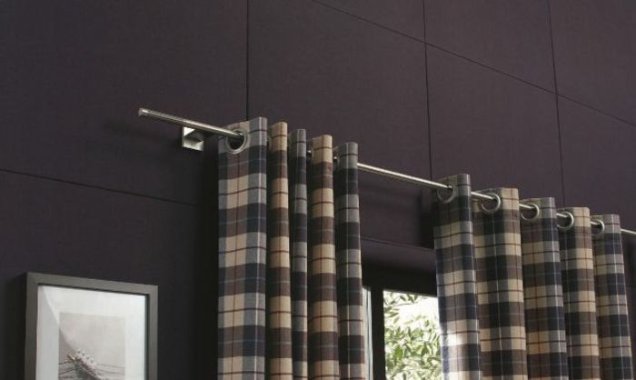 Curtain Rods Made Of Stainless Steel For An Attractive Window