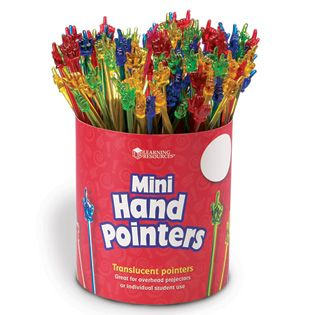 Mini Hand Pointers, sold individually, (LER1962) available at Adventures In Learning