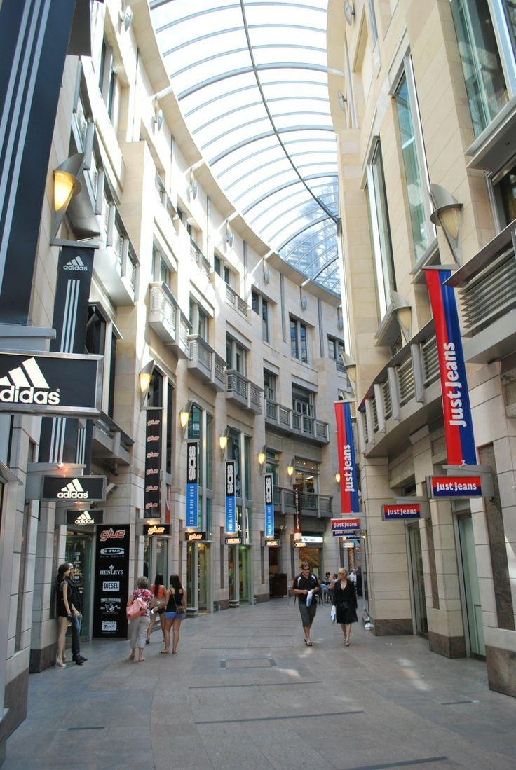 Sydney shopping area
