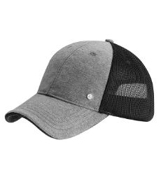 Cap grey black B66952217 Colour:Β Β Β  grey/black  Material information:Β Β Β  polyester / cotton  Style cap, men's. Grey/black.  Polyester/cotton. Net inserts at the rear. Star logo stud on the left side.
