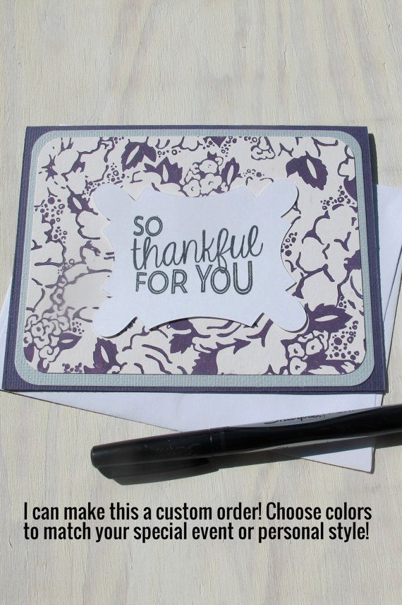 how to write thank you notes for wedding gift cards%0A Items similar to Handmade Thank You Card Letterpress Card    Custom Thank  You Note    Wedding Thank You    Corporate Gift    Personalized Thank You  Card on